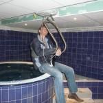 Elévateur portique PMR pour piscine et SPA
