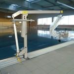 Elévateur portique handicapés pour piscine et SPA