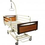 Lit VENDLET 5 avec système de rotation automatique pour manipuler et déplacer le patient alité avec des ressources limitées