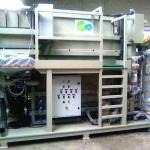Station épuration pour le traitement des eaux piscines, industrie...