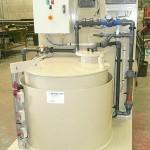 Kit bâche tampon et analyseur pour le traitement des eaux piscines, industrie...